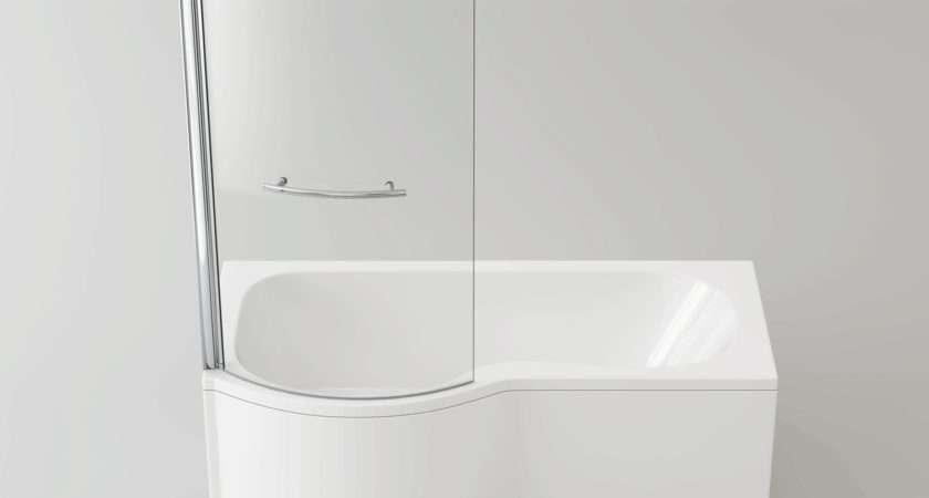 Right Hand Shaped Shower Bath Tub Screen