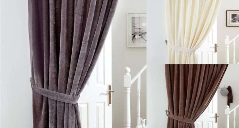 Rising Swing Portiere Rod Pole Door Curtains