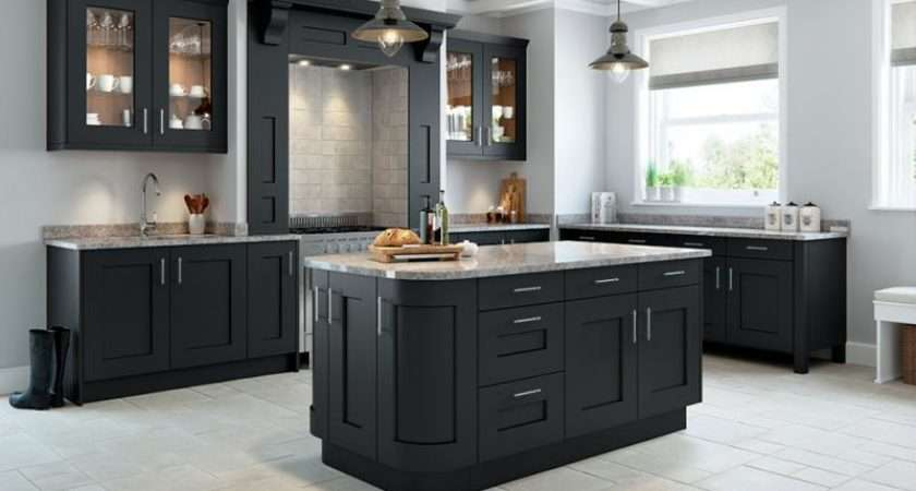 Rivington Bespoke Painted Kitchen Slate Grey