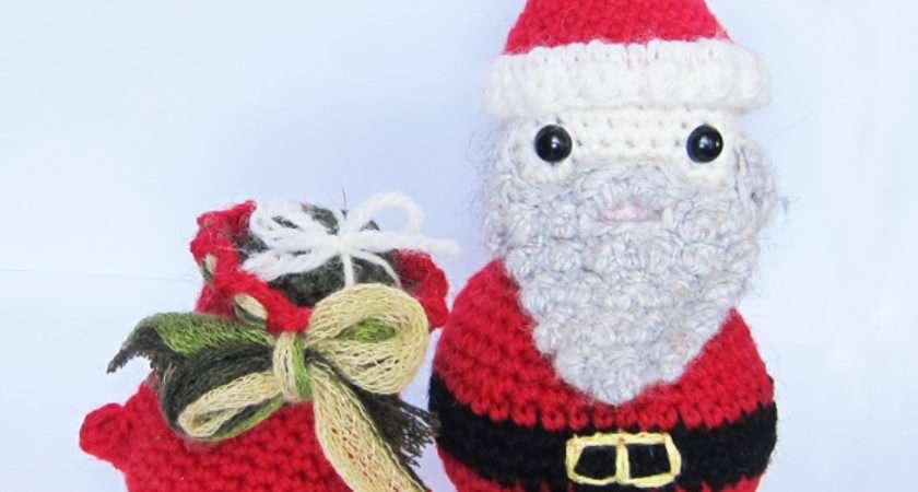 Roaming Pixies Crochet Amigurumi Pattern Santa
