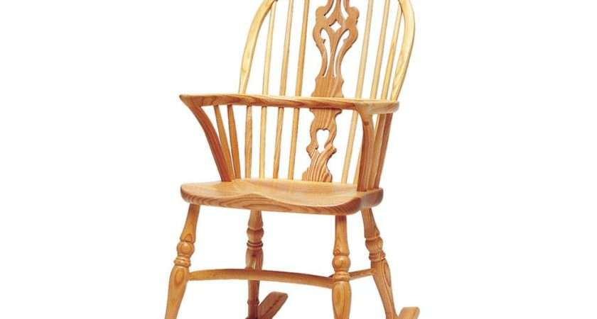 Rocker Version Windsor Armchair