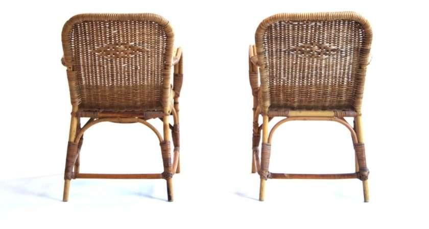 Rohe Rattan Children Easy Chair Stdibs