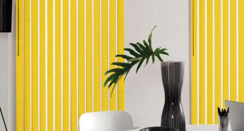 Roman Roller Vertical Venetian Yellow Blinds Shades