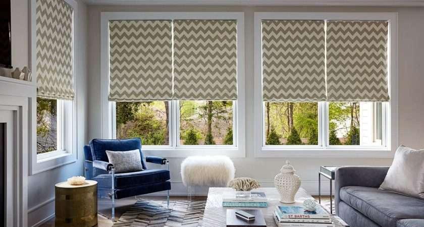Roman Shades Custom Made Fabric Blinds