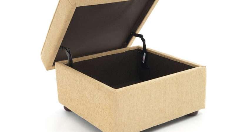 Romsey Storage Footstool Large