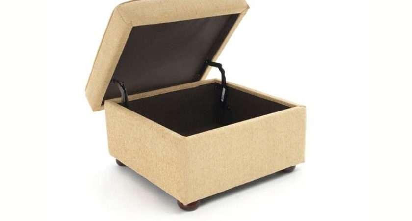 Romsey Storage Footstool Standard