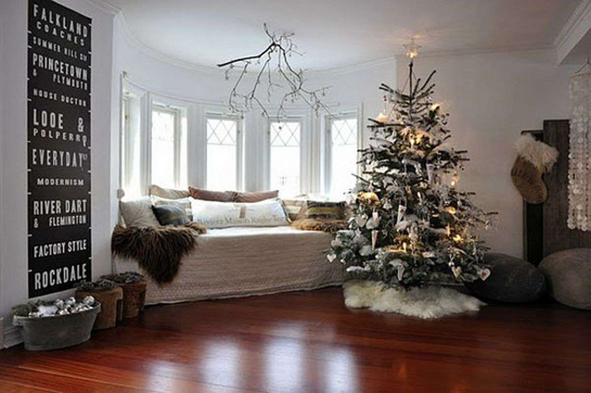 Room Decor Living Great Christmas Decorating