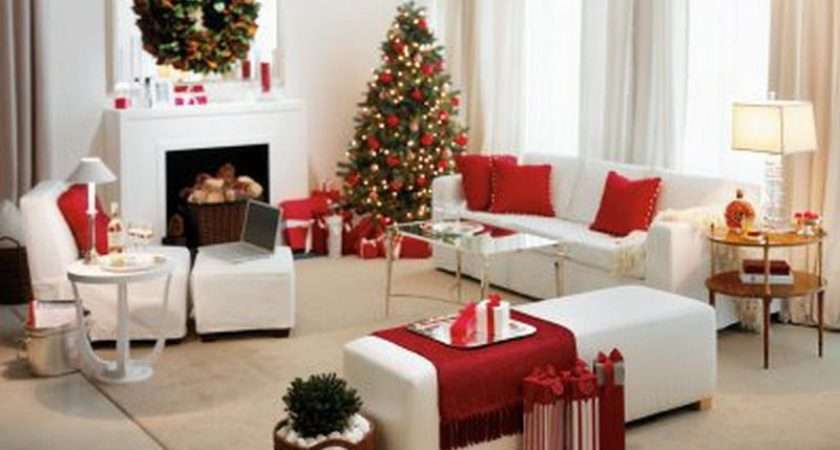 Room Decorate House Perfectly Decorated Christmas