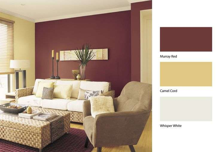Paint colour schemes for living rooms