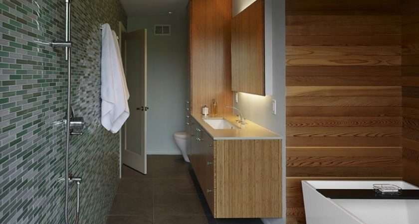 Rooms Modern Wood Paneling