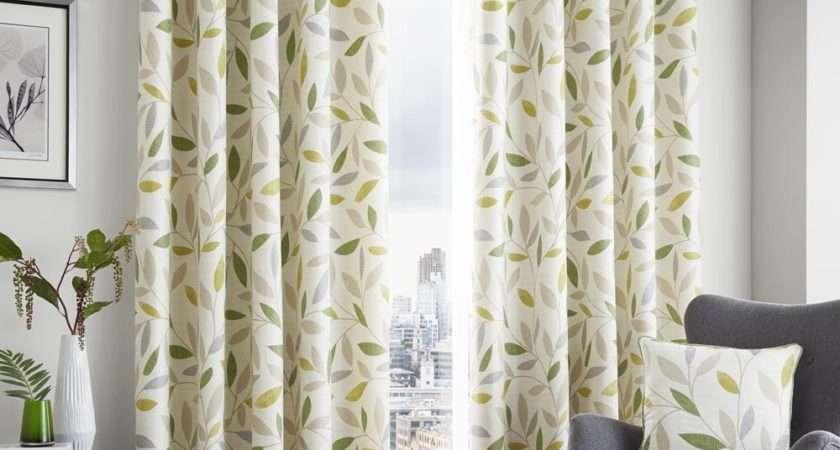 Rosenthal Son Beechwood Readymade Curtains Green