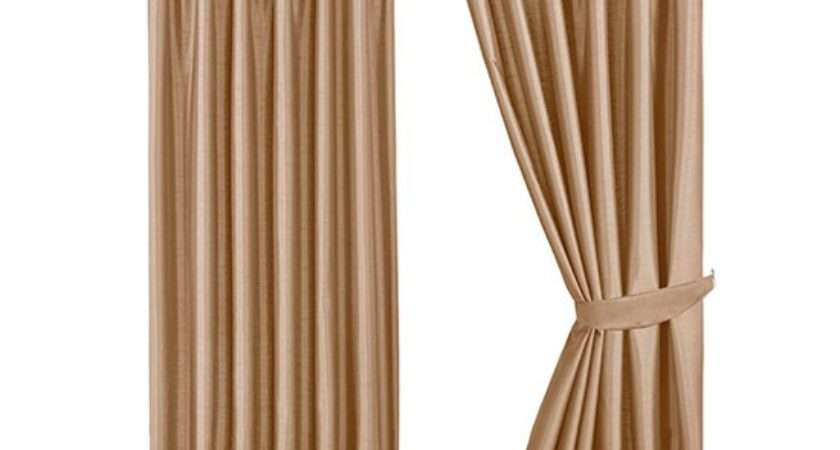 Roxy Faux Silk Curtains Littlewoods