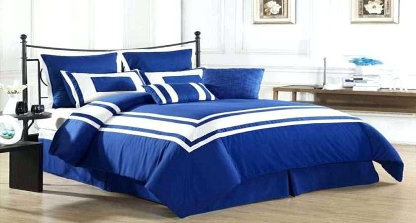 Royal Blue Bedroom Decorating Ideas Glamorous Master