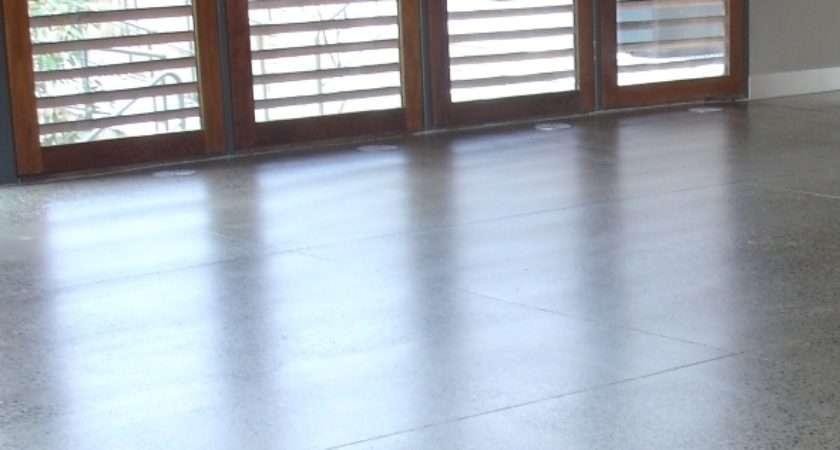 Royal Botanical Gardens Cafe Floor Victoria Internal Concrete Floors