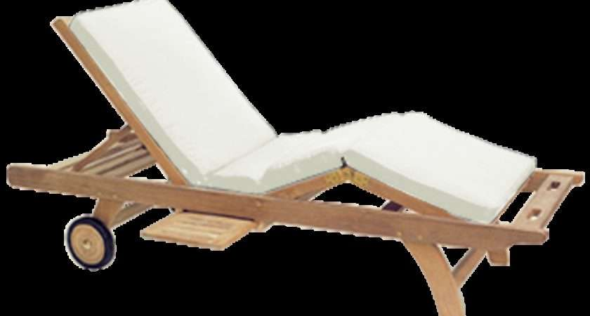Royal Teak Position Adjustable Sun Bed Chaise Lounge Cushion