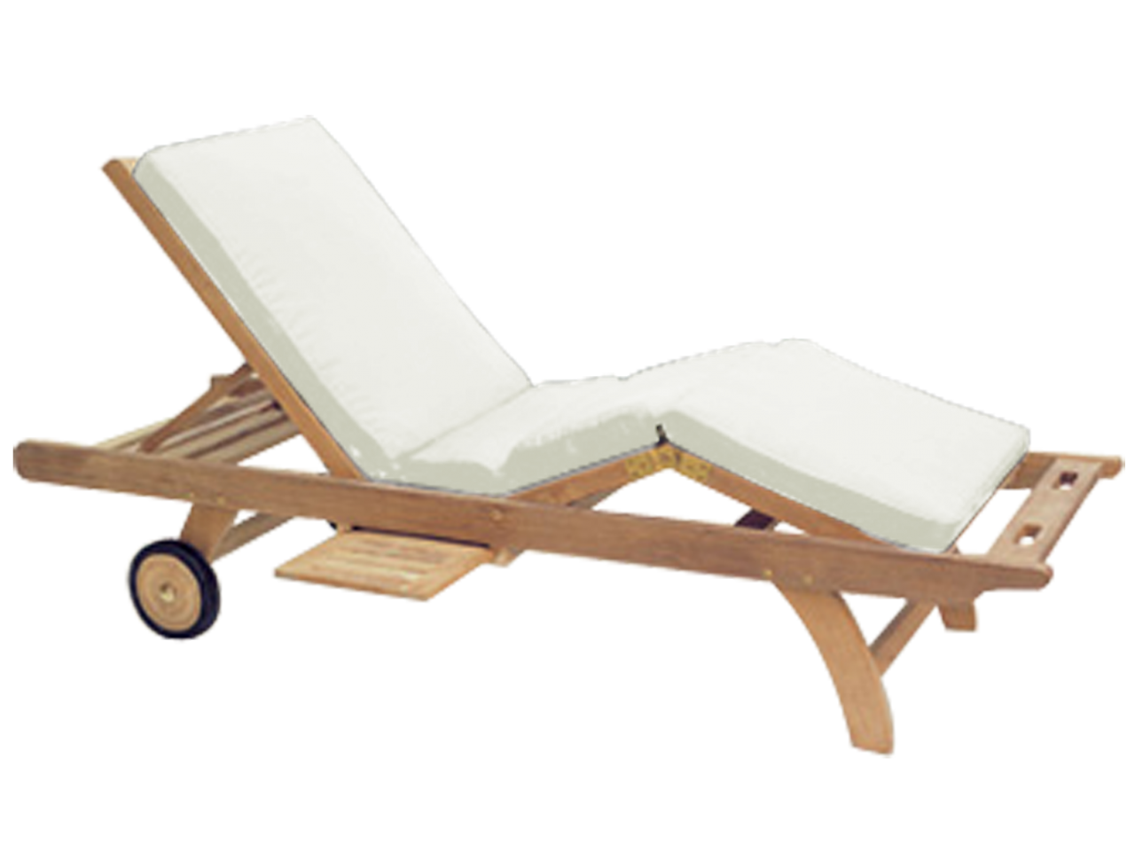 Royal Teak Position Adjustable Sun Bed Chaise Lounge Cushion