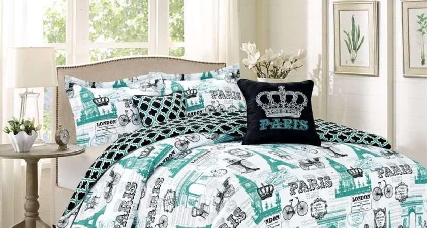 Royal Vintage Imagery Design Bedding Comforter Bed Set