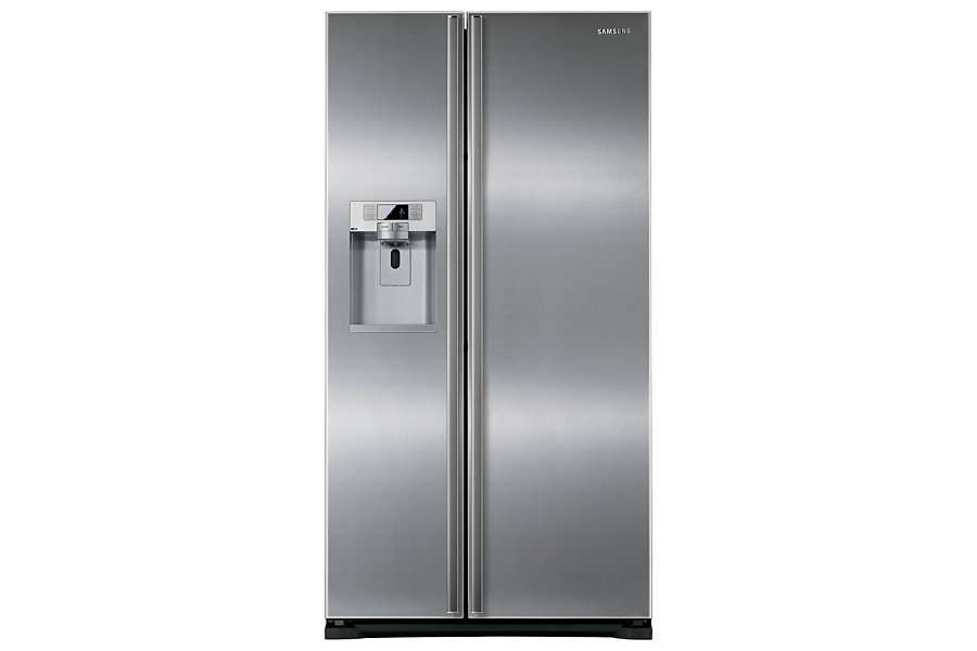 Rsg Uurs Series American Style Fridge Freezer Front Grey