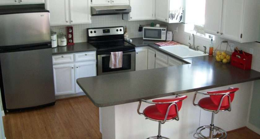 Running Scissors Paint Your Kitchen Cabinets