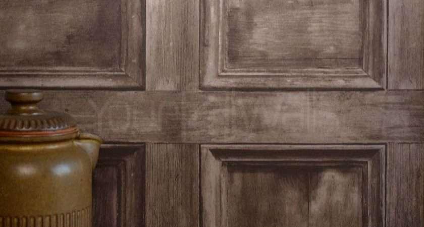 Rushmore Brown Wooden Door Wood Effect