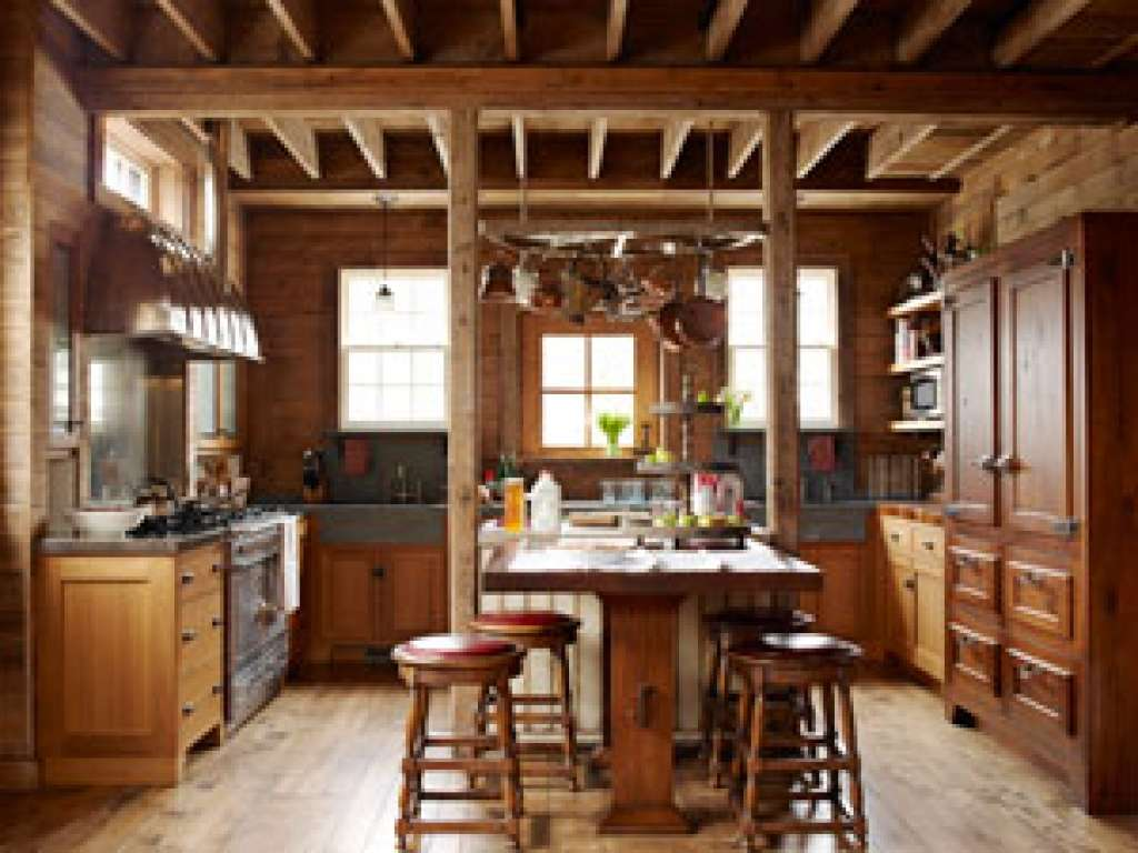 Rustic Barn Kitchen Before After Makeover House
