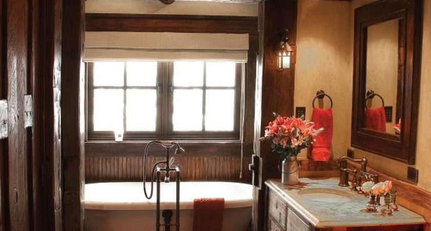Rustic Bathroom Decor Ideas Tips Hgtv