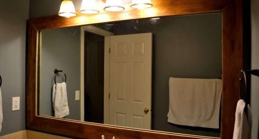 Rustic Bathroom Mirrors Designs Ideas