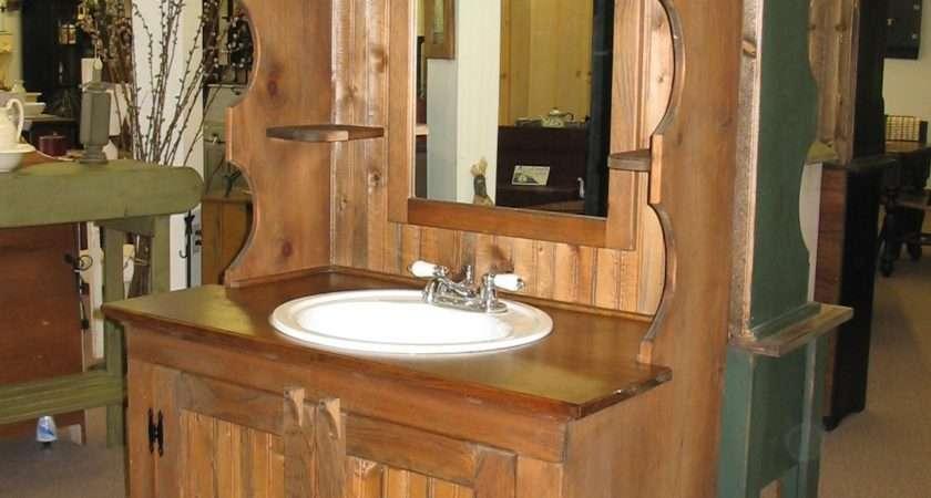 Rustic Bathroom Vanities Make Your Look
