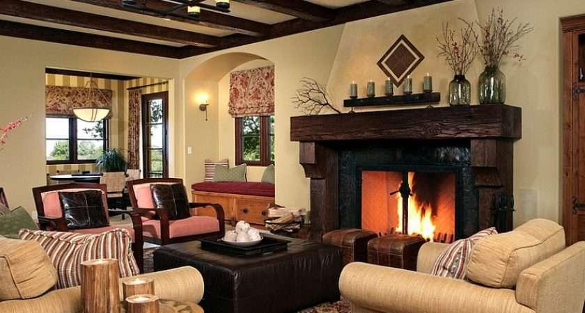 Rustic Living Room Ideas Cozy Organic Home
