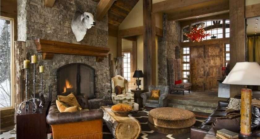 Rustic Living Room Marceladick