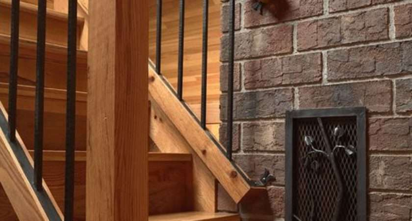 Rustic Minneapolis Staircase Design Ideas Remodels Photos
