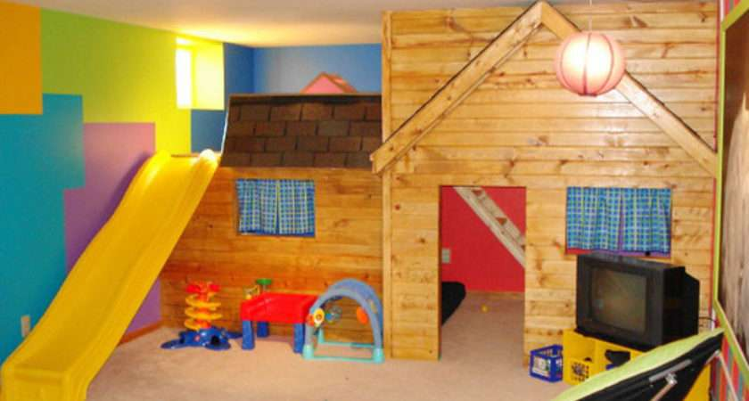 Rustic Modern Design Tips Children Play Room Kids