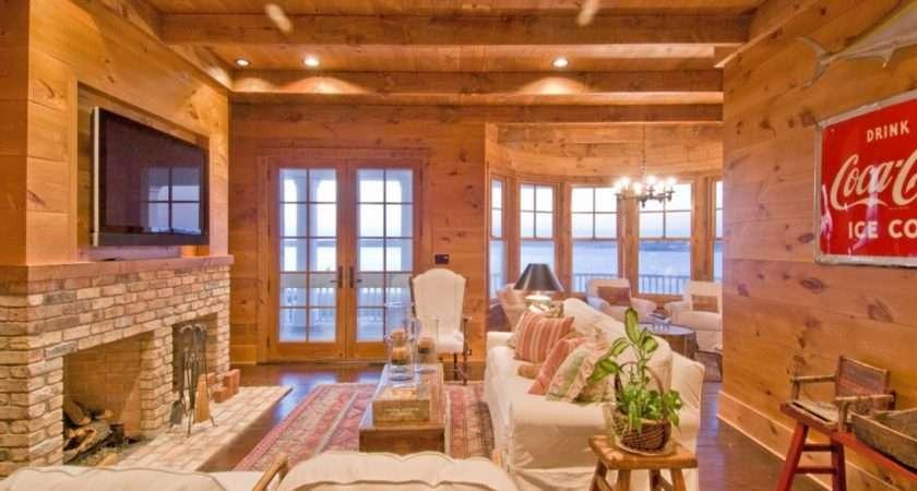 Rustic Room Hamptons Habitat