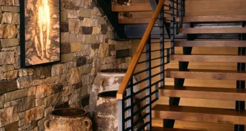 Rustic Staircase Design Ideas Remodel Houzz