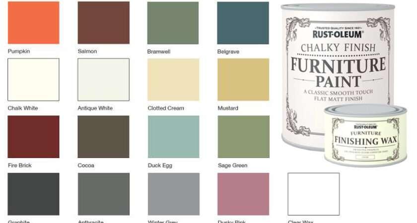 Rustoleum Paint Colour Chart