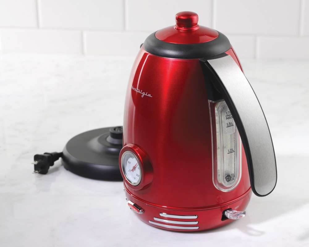 Rwk Style Electric Water Kettle Nostalgia Electrics