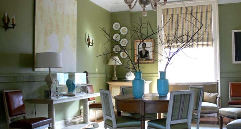 Sage Green Apartment Living Room