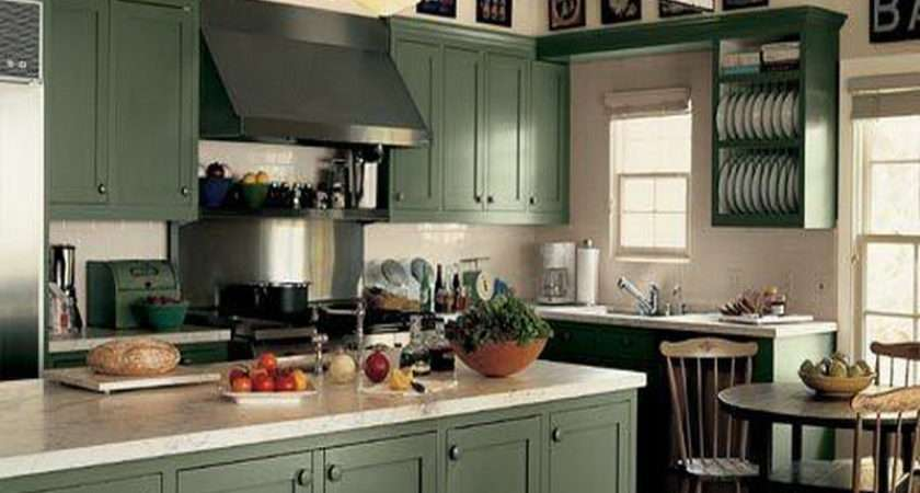 Sage Green Kitchen Cabinets Black Appliances Besto Blog