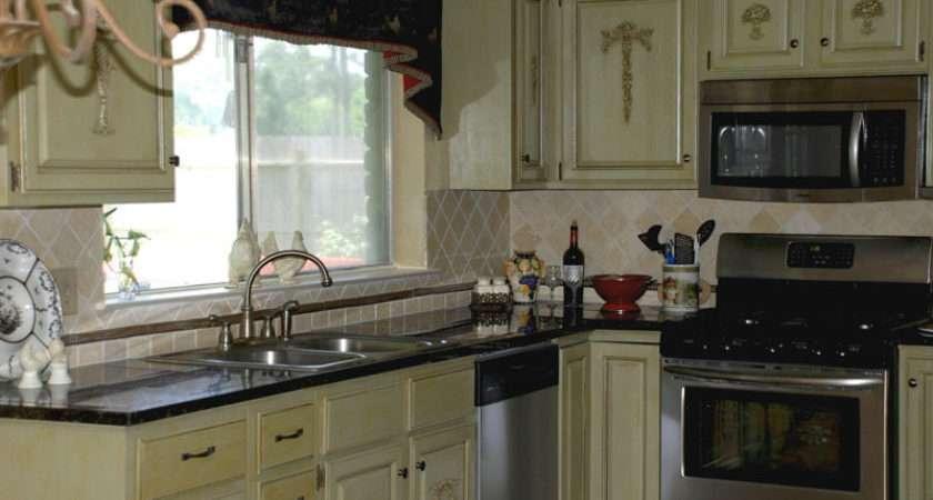 Sage Green Kitchen White Cabinets