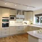 Sage Painted Oak Shaker Kitchen Ropley Hampshire
