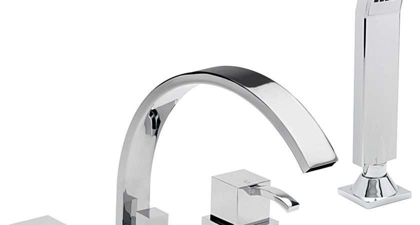 Sagittarius Arke Hole Deck Mounted Bath Shower Mixer Tap