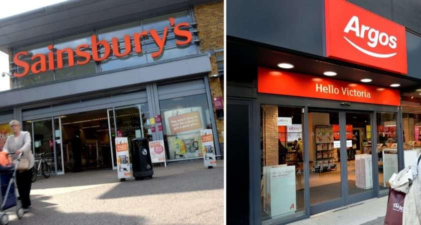 Sainsbury Rebuffed Bid Valued Argos Owner