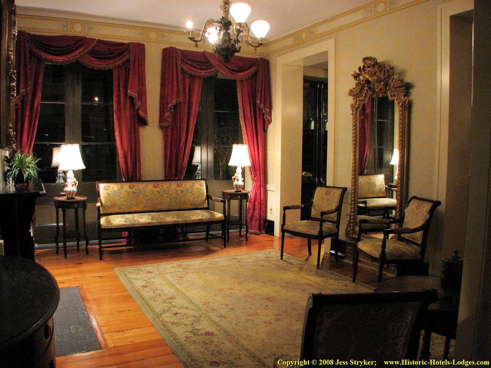 Saint James Hotel Sitting Room Again Different Angle