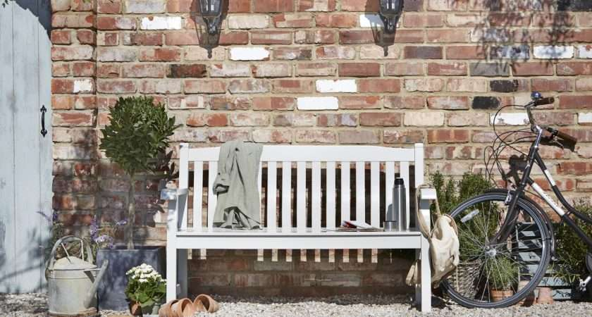 Salcombe Wooden Painted Bench