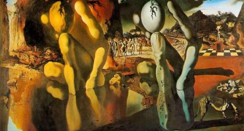 Salvador Dalis Surrealist Metamorphosis Narcissus