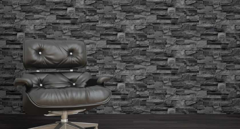 Sample Grey Black Charcoal Natural Stone Brick Slate