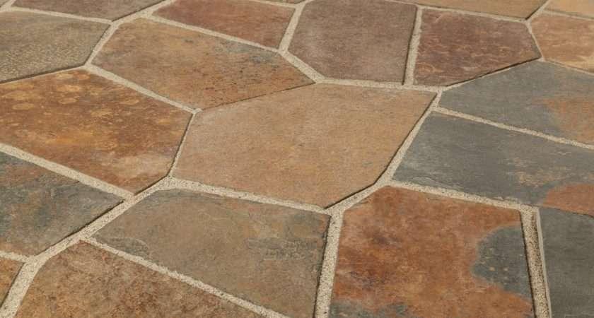 Samples Roterra Slate Tile Meshed Back Patterns