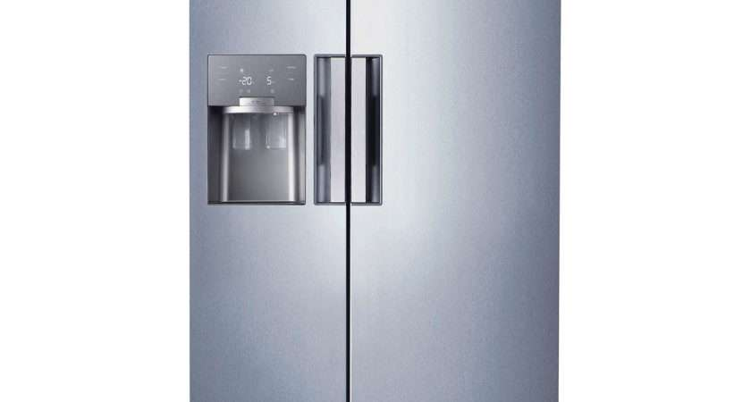 Samsung Fhcsl American Style Fridge Freezer Silver