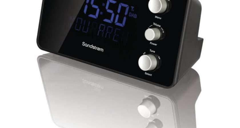 Sandstrom Sdabxcr Dab Clock Radio Black Deals World