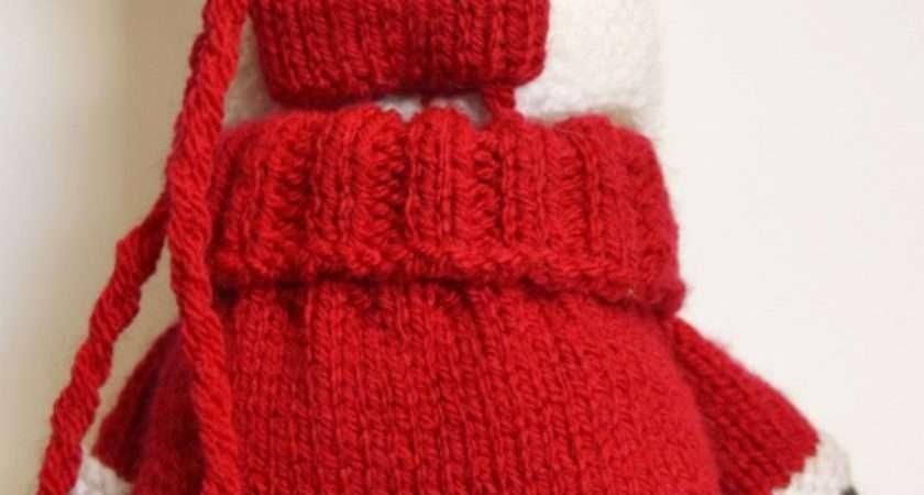 Santa Baggles Gift Bag Knitting Post
